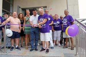 Torrevieja Stroke Support rehab centre Mayor Cuts Rope